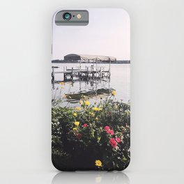 Late Summer on the Lake, Wisconsin iPhone Case