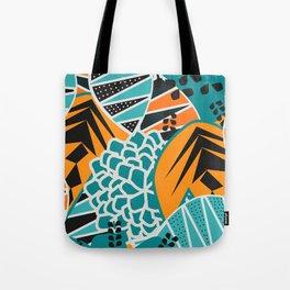 Leaf tropicana Tote Bag