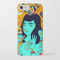 trip iPhone & iPod Cases featuring Trip by Jefowley