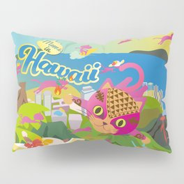 Mews in Hawaii Pillow Sham