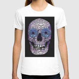Skull Art - Day Of The Dead 2 Stone Rock'd T-shirt