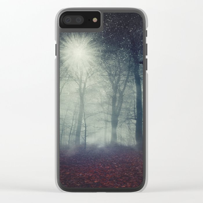 enchanted forest Clear iPhone Case