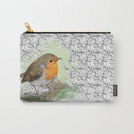 Garden Robin Carry-All Pouch