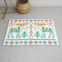 Amoosingly Simple Rug