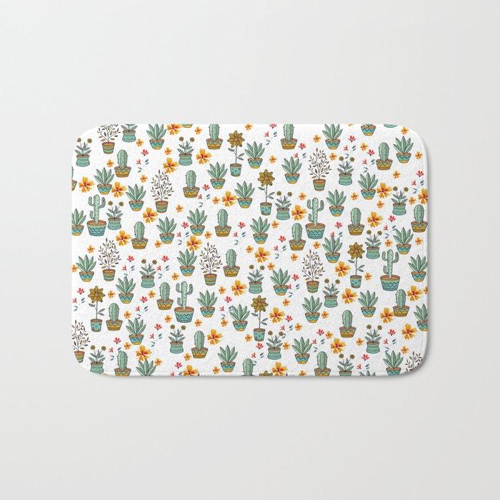 Floral Sunshines Bath Mat