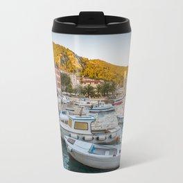 streets of Hvar Travel Mug