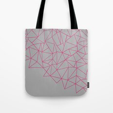 Ab Storm Hot Grey Tote Bag