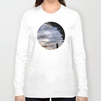 fairies Long Sleeve T-shirts featuring Photographing Fairies by unaciertamirada