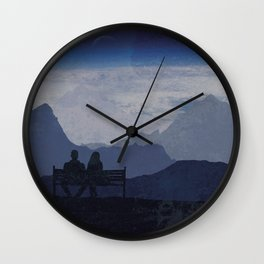 Watching the World Turn Wall Clock