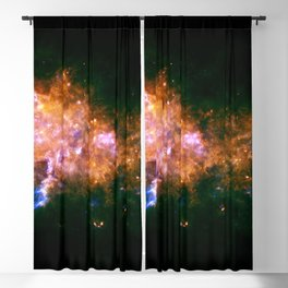 The Milky Way galaxy in the Eagle constellation Blackout Curtain