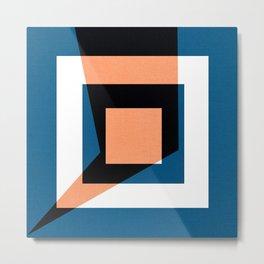 Geometric Deko - - Metal Print
