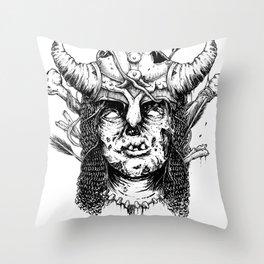 Draugr - Skyrim Inspired Throw Pillow