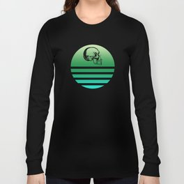 Classic Retro Design Skull 9 Long Sleeve T-shirt
