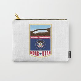 Utah - Moab, Arches & Canyonlands Carry-All Pouch