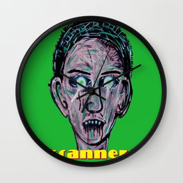 SCANNERS 2013 Wall Clock