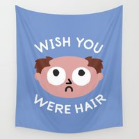 bands Wall Tapestries featuring Departed by David Olenick