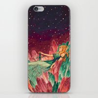 battlestar galactica iPhone & iPod Skins featuring Galactica  by Kelly Leigh Miller