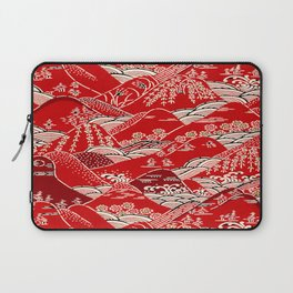 Red Mountains Laptop Sleeve