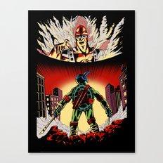 Attack on Krang Canvas Print