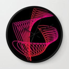 Spiral dance Wall Clock