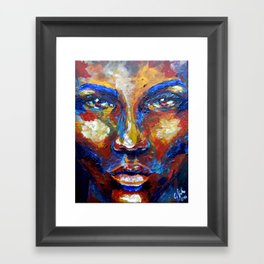 Blow by carographic Framed Art Print