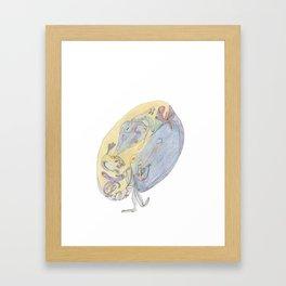 Drawing #25 Framed Art Print