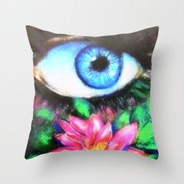 Title: 3rd Eye of Wisdom Throw Pillow