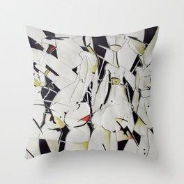 women Throw Pillow