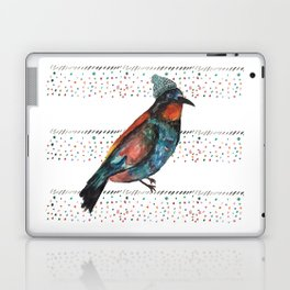 Birds and hats! Laptop & iPad Skin