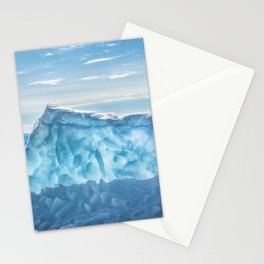 Pressure ridge of lake Baikal Stationery Cards