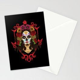 Santa Muerte - La Calavera Catrina - Sugar Skull Stationery Cards