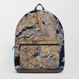 Cliffside Coastal Home Backpack