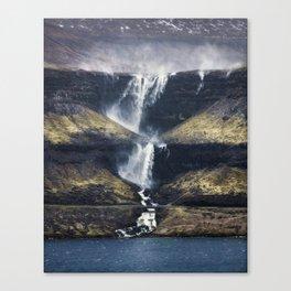 Fossá vertical Canvas Print