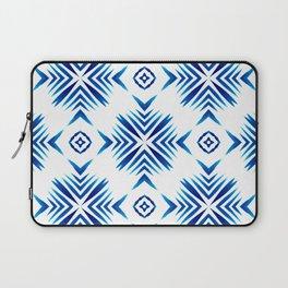 Shibori Blue Watercolour No.15 Laptop Sleeve