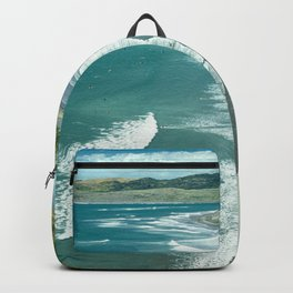 Raglan beach, New Zealand Backpack