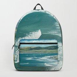 Raglan beach, New Zealand Backpack