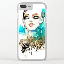 Beauty Portrait 16/2018 Clear iPhone Case