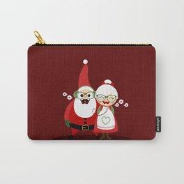 Père & Mère Noël  (rouge) Carry-All Pouch