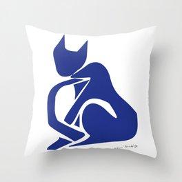 Henri Matisse - Le Chat Bleu (Blue Cat) Artwork - Prints, Posters, Tshirts, Bags, Mugs, Men, Throw Pillow