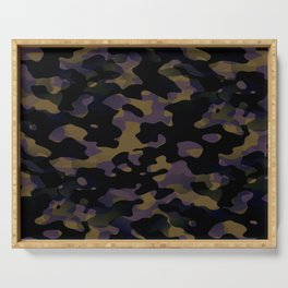 Pattern Camouflage Serving Tray