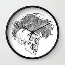 Death is New Punk Wall Clock