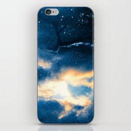 Celestial Grunge Clouds iPhone Skin