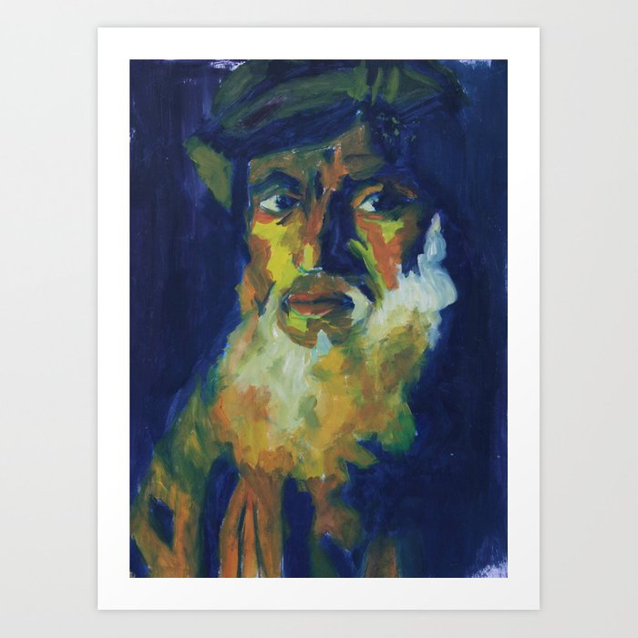 WISE MAN Art Print