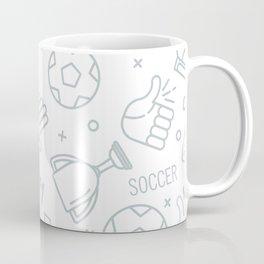 Soccer (football) pattern Coffee Mug