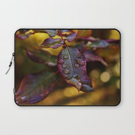 colourful leaves Laptop Sleeve