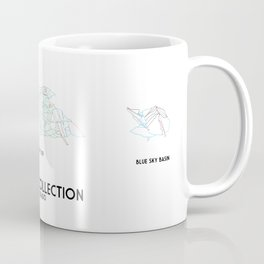 Vail Collection - Minimalist Trail Art Coffee Mug