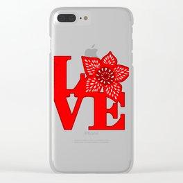 Strange Love Clear iPhone Case