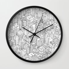 Isometric Urbanism pt.1 Wall Clock