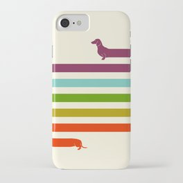 (Very) Long Dachshund iPhone Case