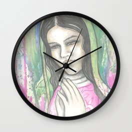 Virgen Guadalupe Wall Clock